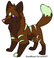 Pup for 1Fenrir1 by BlackWolf1112-ADOPTS