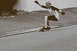 longboarding by Elliair