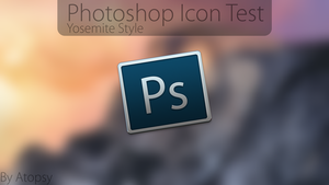 Yosemite Photoshop Test Icon by Atopsy