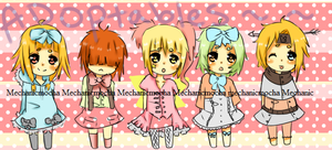 Lolita batch 2 Adoptables~ OPEN by MechanicMocha