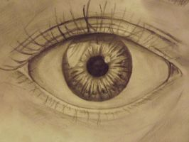 Eye that I drew. by Duncan-McEwan-Art
