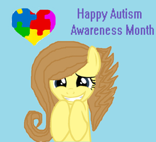 Happy Autism Awareness month! by XxGinger-The-StarxX