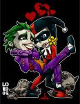 Lil Joker 'n' Harley by lordmesa