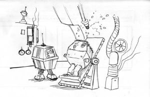 The Adventures of Gonk the Power Droid 23 by Gorpo