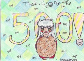 Thanks For 500 Page Views by SangoxandxKirara