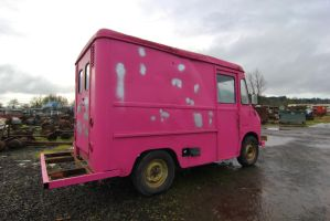 Pink box on wheels by finhead4ever