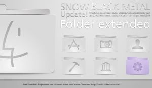 Metalic Snow Folder by sirubico