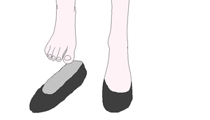 Giantess Marina Solace's Shoes by ChipmunkRaccoon2