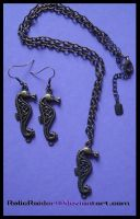 Celtic Seahorse Set by RelicRaider