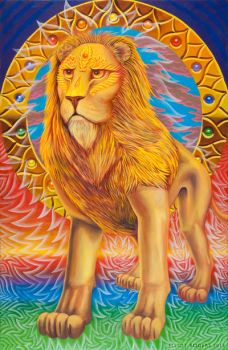 Lion by CosmicEye