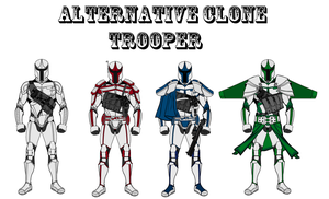 Alternative Clone Trooper by Milosh--Andrich