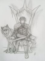 King in the North by VanessaPortrait