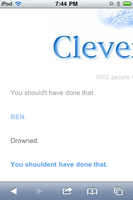 Talking to clever bot about Ben drowned Part 4 by Death10281