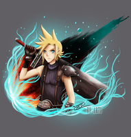 Final Fantasy VII - Cloud Strife by Ro-Arts