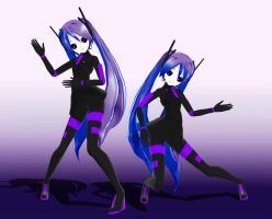 MMD Sweet Devil Dancers by Xenosnake