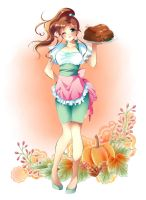 Happy Thanksgiving 2013 by Rurutia8