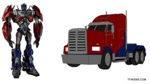 optimus prime by raelynn109