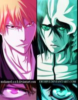 ichigo vs ulquiorra - collab - DEOHVI by DEOHVI