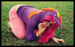 Crawling in Avalar ( Spyro Cosplay ) by KrazyKari