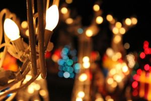 Christmas Lights by LauraBlackmore