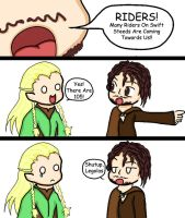 Shut up Legolas by CazGirl