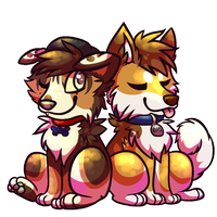 Riff and Shorty by Spashai