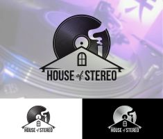 House of Stereo logo by vsMJ