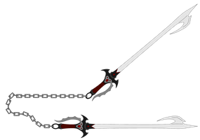 ObisidianDemonClaws' Chained Hook Blades by NeonBlacklightTH