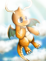 Dragonite by Chibixi