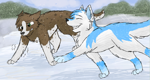 Jake and Jack Frost by CascadingSerenity