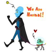 We Are Normal C-: by Eloarei