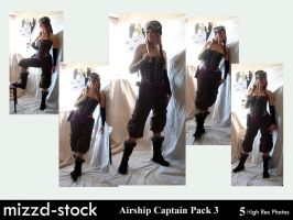 Pirates-Airship Captain Pack3 by mizzd-stock