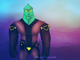 Tetrax of Ben 10 by VicTycoon