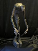 Stylized Frankenstein Painted by Blairsculpture