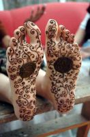 henna feet by delicate87