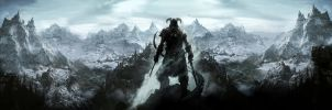 Skyrim Wallpaper by Arixev