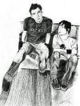 David and Pierre-Simple Plan by jeni-stark
