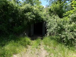 TNT Area - Entrance to Fourth TNT Dome by Sneas