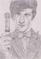 11th Doctor by PokaDot-Spider