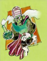 Mojo jojo by mannycartoon