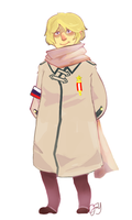 Hetalia Russia by monkeyoo