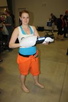 Chell Doesn't Need no Stinking Longfall Boots! by turpinator77