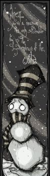 A Snowman by FlawedNoOne