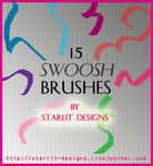 15 Swoosh Brushes by mystique87