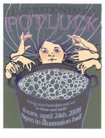 Potluck Poster by lauren-moyer