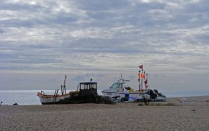 boats at Aldeburgh by popicok