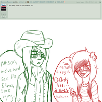 Ask Allison #3- Sexy times, probably not-- by OREOxBEAR
