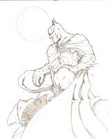 Batman by sketchheavy