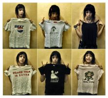Rock T-shirts by ART-ifice