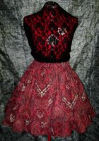 Red Special Set Skirt by SeraphimFeathers